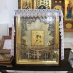 Пребывает икона Божией Матери Избавительница от бед страждущих