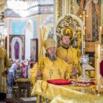 Архипастырь возглавил служение Божественной литургии в соборе Александра Невского