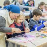 Занятия художественным творчеством в Воскресной школе