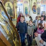 Урок-викторина состоялся для учеников Воскресной школы