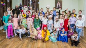 Воскресная школа Александро-Невского собора отметила праздник Рождества Христова