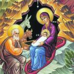 Архиерейское служение в Рождественский сочельник в Александро-Невском соборе