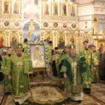 Всенощное бдение на престольный праздник собора Александра Невского