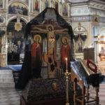 Пассия (Служба Страстям Христовым)  в соборе Александра Невского.