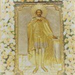 Престольный праздник собора великого благоверного князя Александра Невского.
