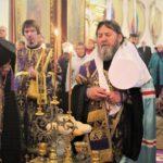 Всенощное бдение накануне Воздвижения Креста Господня.