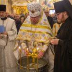 Праздник Крещения Господня в Александро-Невском соборе