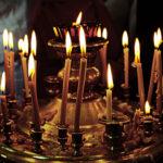 В соборе можно приобрести Сретенские свечи