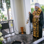 В День города в Ижевске совершили панихиду у усыпальницы А.Ф. Дерябина