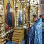 В праздник Сретения совершено освящение Сретенских свечей