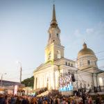 У стен храма прошел XXIII Большой хоровой собор